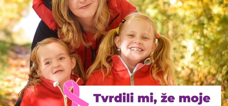 maminy s rakovinou příbeh maminka veronika rakovina prsu barevna rakovina slovemprotirakovi