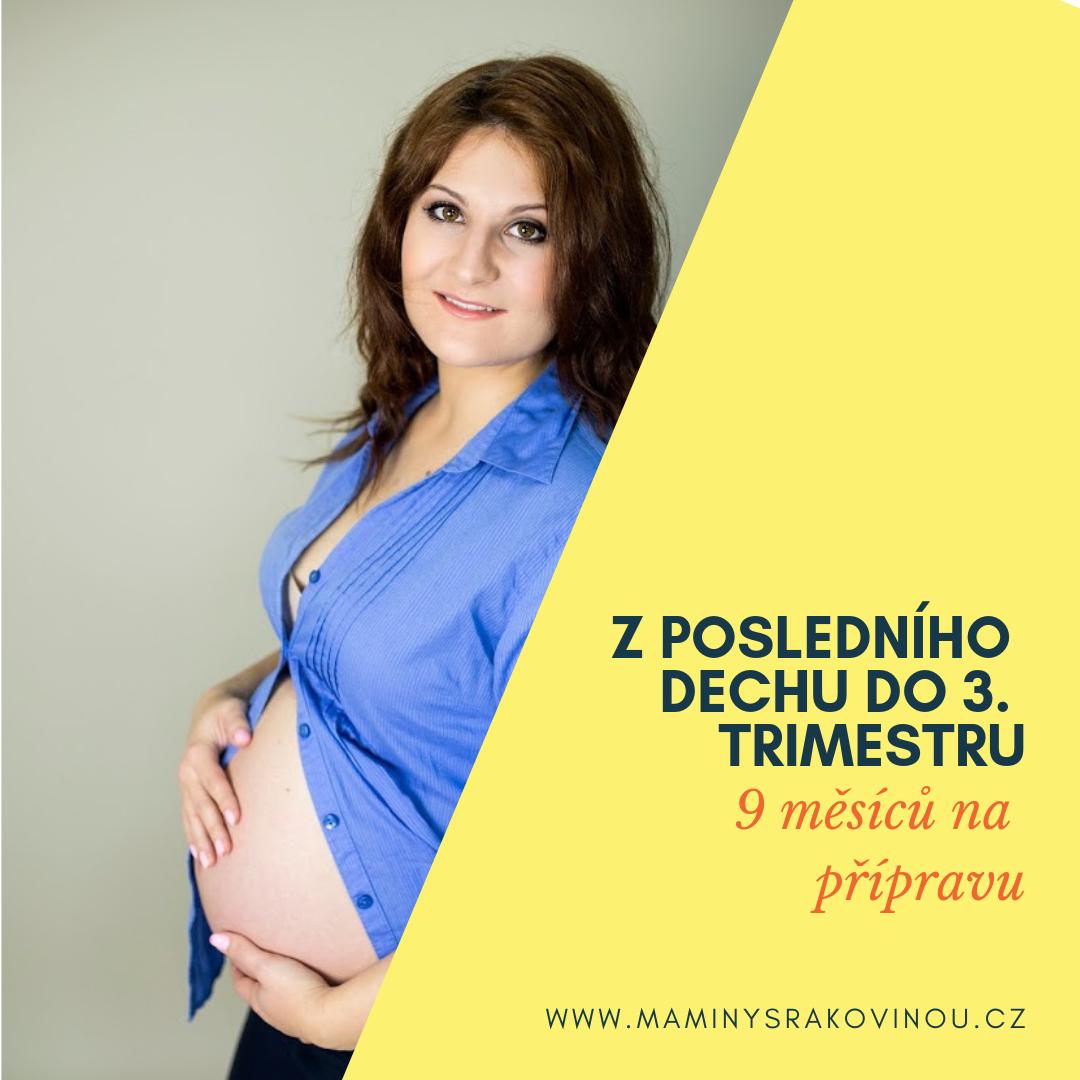 Těhotenství končí – Poslední vlna i poslední dech