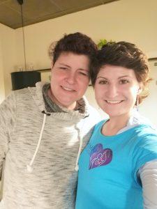Šárka Šteinochrová a vítězka soutěže o svatbu na statku Keseg pro maminy s rakovinou